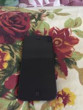 للبيع جوال ايفون 5 اسود 16 قيقا
