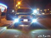 اكسسوارات لمبات إضاءه LED للسيارات والدبابات مقاس 17سم مسطره ضد الماء بيضاء اللون