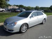 2010 Toyota Avalon Limited بطاقة جمركية وصلت
