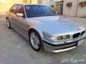 BMW 740 I 2000 SILVER