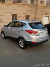 Hyundai Tucson  موديل 2010 فل كامل بدون فتحة سقف