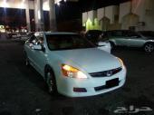 هوندا اكورد 2007 سته سرندل (V6) ابيض اللون فل كامل
