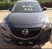 للبيع مازداCx9 فل  موديل2014 رمادي في الرياض