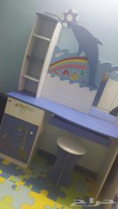 غرفة نوم اطفال ولادي شبه جديدة