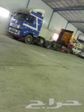 للبيع بالاحساء  ورشة سيارات شاحنات نقل ثقيل بالصناعية الجديدة  ( 5 ) عمال مع الصور