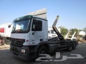 للبيع شاحنه مرسيدس أكتروس2541 6x2 موديل 2007