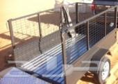 دباب صحراوي 2013 مع قاطرة وملحقاتهما