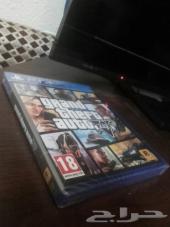 للبيع GTA V PS4 ب300 ريال  كمية محدودة