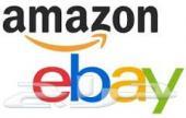 وسيط الكتروني للشراء من موقع ebay و Amazon