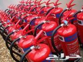 تركيب شبكات الإطفاء وشبكات الإنذار واستخراج تراخيص الدفاع المدني و أحالة البلدية