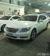 للبيع لكزس LS 460 لؤلؤي موديل 2012
