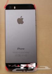 ايفون 5s  قيقا64 اسود مستخدم للبيع