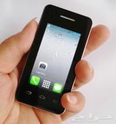 جوال ميني ايفون متوفر بجميع الالوان جهاز عالي الدقه صغير الحجم بشريحتين mini iphone