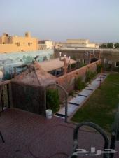 استراحه للايجار بحي الرحيلي في اعلى منطقه ايجار للشباب فقط