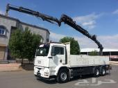 شاحنة مان سكس 2004 الحجم 33.410 بونش هياب لرفع البضايع