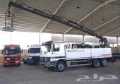 شاحنة مرسيدس 2002 الحجم 2640 بونش هياب لرفع البلوك