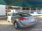 هيونداي ألنترا  2012 - مانيوال - زجاج كهرباء - جميع التحكم في الدركسيون عجلة القيادة