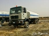 للبيع صهريج ماء 6x6  مان موديل 2001
