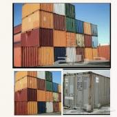 حاويات كونتينر مقاس 20 قدم و 40 قدم يوجد كميات