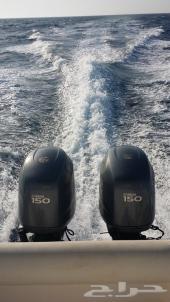 قارب دولفين 31 قدم للبيع نظيف و مجدد (بوت او طراد )