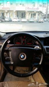 للبيع  او البدل BMW 730 اسود
