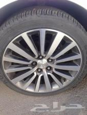 Hyundai Sonata 2013 Rims Size 18 Wheels Set W Tires  هيونداي سوناتا 2013 جنوط 18 تجي مع الفل بكفراته