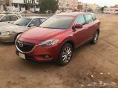 للبيع CX9 لون أحمر موديل 2015 فل كامل