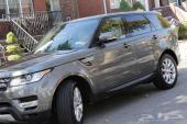 استورد سيارتك 2014 RANGE ROVER SPORT من امريكا بسعر 297.000 الف ريال واصلة جدة بدون جمرك