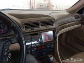 BMW 750IL 1998 V12 بي ام مديل 98 12 سلندر 750 سعودي وارد الناغي مكينه وقير عشرط فرش وسط