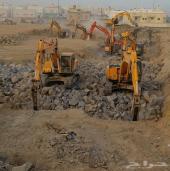 مشروع ضخم بالمدينة المنورة في حاجه لبوكلينات إيجار