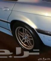 للبيع قطع غيار BMW الفئه السابعه من موديل95 الى 2001 سطبآت شرايح _شاشه عريضه_جنط18نجمه_ غمازات