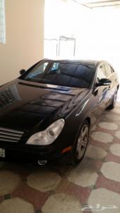 مرسيدس CLS500 2006 أسود.