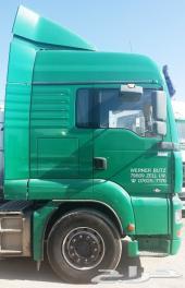راس تريلا مان 430 ميجا 2004 جير عادي وارد ألمانيا - بطاقة جمركية