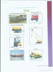 نبيع او ناجر .   مثل  الرافعات - شاحنة الازدهار -رافعة شوكية وغيرها مثل أدوات الآلات  تشغيل المعادن