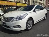 هونداي  أزيرا  2012  فل كامل  ( خليجي ) أبيض V6
