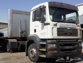 شاحنة مان مسقس 310 شاص 2005 جيرعادي 6X2  - المنطقة الحرة الأردن