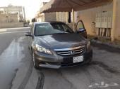للبيع هوندا اكورد نص فل 2012 السياره نظيفه من الداخل والخارج والممشئ قليل