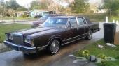 1983 Lincoln Town car  تون كار  64 الف ميل اورجنال بالطلب من امريكا