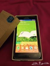 شبه جديد سامسونج نوت 3 Samsung Galaxy Note 4G اسود مع كل اغراضه اقبل التبادل او 1600 ريال