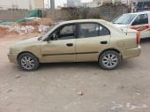 سياره أكسنت بيع تشليح2001