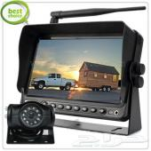 كاميرات خلفية Wireless للشاحنات جديدة وشاملة التركيب والتشغيل.