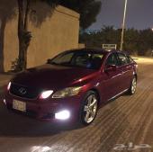 للبيع لكزس GS 2007 اللون احمر
