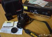 كامرا نيكون د 3200   زوم 18-55 في آر كيت للبيع   camera nikon d3200 18-55 VR kit for sale