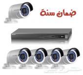 تركيب كاميرات مراقبة للشركات والمؤسسات والأفراد ضمان سنة مع الصيانة
