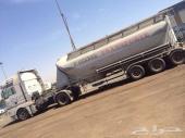 شاحنة مان 2007 بحالة ممتازة جدا مع بوكلر 37 طن