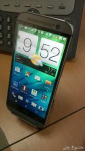 جوال HTC One (M8) لون رمادي للبدل