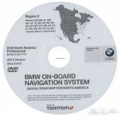 DVD خرائط لسيارات ال BMW الفئة X فقط