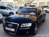 للبيع أودي A8L لارج مواصفات خاصة موديل 2008 وكالة البحرين
