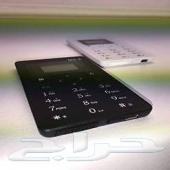 للبيع أصغر جهاز جوال في العالم . بحجم بطاقة الصراف . صناعة سنغافورية .الطبعة العربية