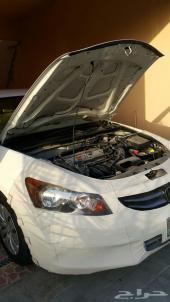 Honda Accord 2011  هوندا اكورد 2011 ابيض على الفحص بحاله  ممتازه (وكاله)